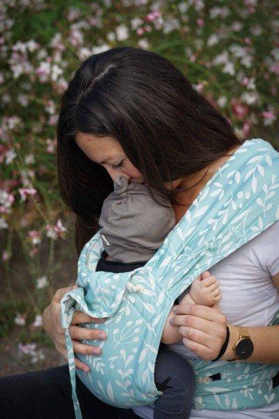 LIMAS Babytrage – Flora Magic Mint