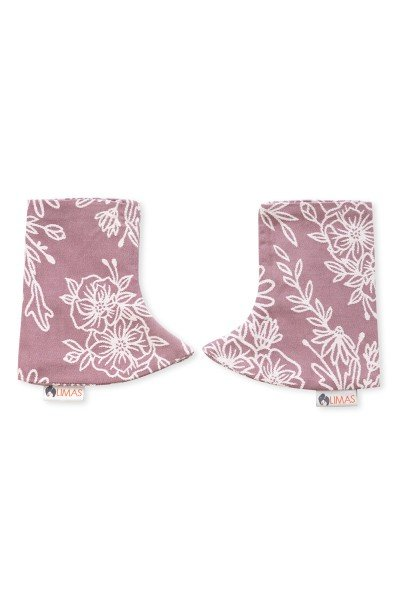 LIMAS Drool Pads - Blossom Rosewood
