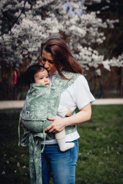 LIMAS Babytrage – Blossom Green Lily