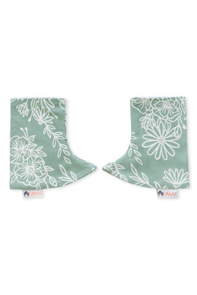 LIMAS Drool Pads - Blossom Green Lily