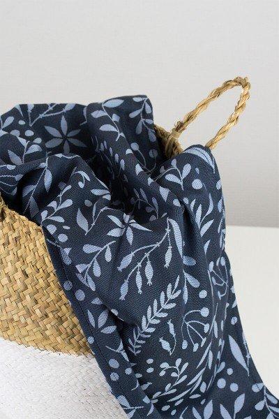 LIMAS Baby Wrap – Flora Midnight Blue