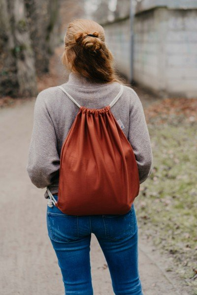 LIMAS rucksack - Rusty Red