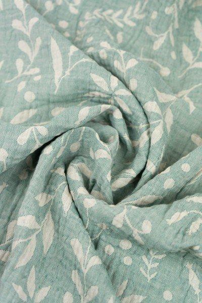 Lange en mousseline – Flora Mint