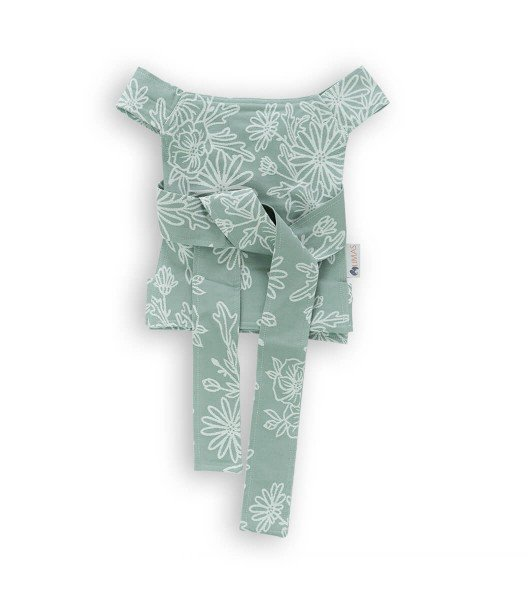 LIMAS doll carrier - Blossom Green Lily