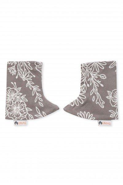 LIMAS Drool Pads - Blossom Taupe