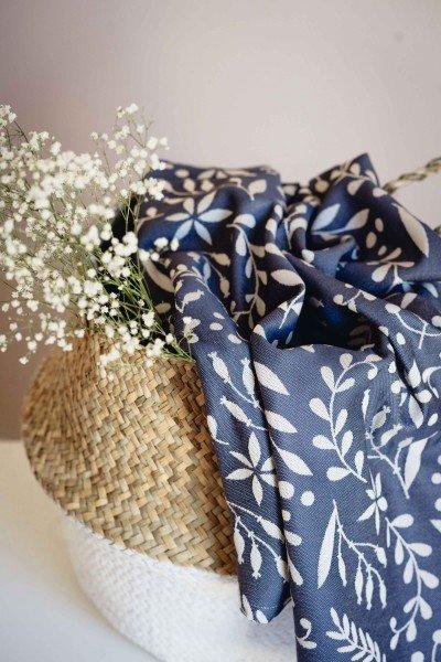LIMAS Baby Wrap – Flora Cool Grey