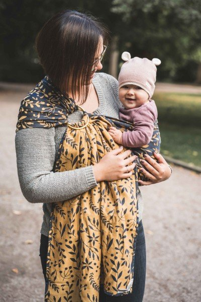 LIMAS Ring Sling – Flora Honey Moon